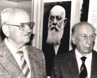 Wilhelm Lux und Wolfgang Rathsam